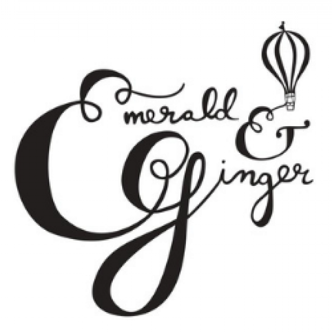 Emerald and Ginger logo for alumni marketplace 2020